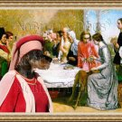 Dachshund Standard Smoothaired Fine Art Canvas Print - Lorenzo and Isabella