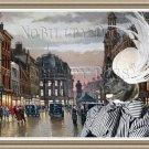 American Akita Fine Art Canvas Print - Square Manchester