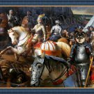 Finnish Lapphund Fine Art Canvas Print - The battle and Riccer