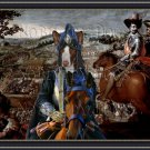 Ibizan Hound Smoothaired Fine Art Canvas Print - Swords and Glory