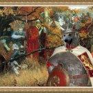Norwegian Buhund Fine Art Canvas Print - Before the Battle