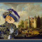 Pomeranian Fine Art Canvas Print - Castle on a River Bank