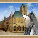 Siberian Husky Fine Art Canvas Print - Saenredam