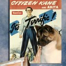 American Akita Canvas Print - Citizen Kane Movie Poster