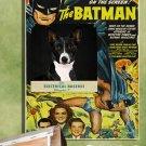 Basenji Canvas Print - Batman The electrical Brain Movie Poster