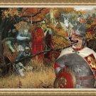 Swedish Vallhund Fine Art Canvas Print - Where is a Enemy