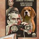 Beagle Canvas Print - REAR Window Movie Poster