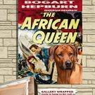 Rhodesian Ridgeback Canvas Print - THE AFRICAN QUEEN Movie Poster