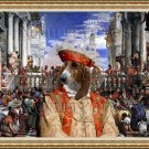 Basset Artésien Normand Fine Art Canvas Print - The Marriage at Cana Paolo Veronese