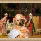 Basset Fauve de Bretagne Fine Art Canvas Print - A Letter of Recommendation