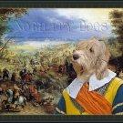 Basset Griffon Vendeen Fine Art Canvas Print - Grande Battle
