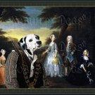 Dalmatian Fine Art Canvas Print - The Jones Family