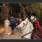 Dalmatian Fine Art Canvas Print - My love has chosen another