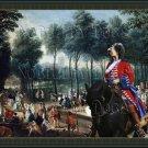 Grand Bleu de Gascogne Fine Art Canvas Print - St James's Park and The Mall