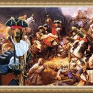 Ogar Polski Fine Art Canvas Print - Muskeeters Battle
