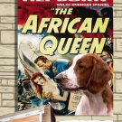 Welsh Springer Spaniel Poster Canvas Print  -  The African Queen Movie Poster