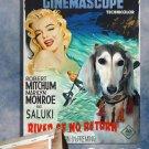 Saluki Poster Canvas Print -  River of No Return Movie Poster
