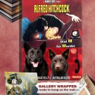 Australian Kelpie Poster Canvas Print - Dial M for Murder