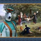 Whippet Art Canvas Fine Giclee Print by Nobility Dogs
