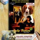Welsh Springer Spaniel Art Poster Canvas Print -Pulp Fiction Movie Poster
