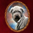 Glen of Imaal Terrier Jewelry Brooch Handcrafted Ceramic by Nobility Dogs