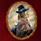 Spinone Italiano Jewelry Brooch Handcrafted Ceramic by Nobility Dogs