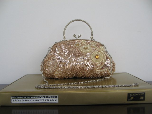Beaded Embroidery purse -4