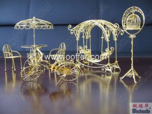 Iron Wire Craft Golden Fall Set
