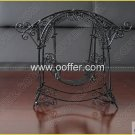 Iron Wire Craft Black Rocking Chair