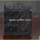 Iron Wire Craft Black Cabinet