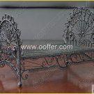 Iron Wire Craft Black Bed