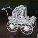 Iron Wire Craft White Cradle