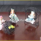 Iron Wire Craft Black Baby Sitter Set