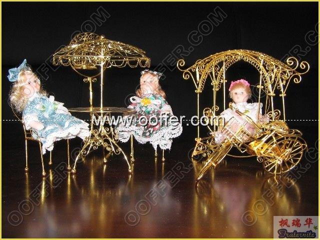 Iron Wire Craft Golden Living Set
