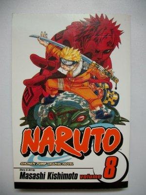 NARUTO VOL 8 SHONEN JUMP MANGA GRAPHIC NOVEL ANIME