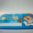 NEW WARNER BROS. CARTOON TASMANIAN DEVIL PENCIL CASE BLUE RETIRED RARE