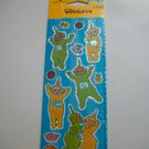 NEW TELETUBBIES STICKERS 2 SHEETS NIP AMERICAN GREETINGS
