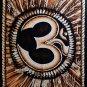 hindu sacred om aum mantra sequin wall hanging tapestry batik painted yoga art