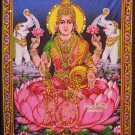 hindu Goddess of Wealth Lakshmi sequin wall hanging Ethnic Home Decor