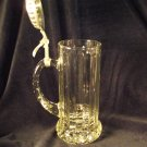 Vintage Miller Genuine Draft Glass Beer Stein Mug Rastal Italy 1990 Collectible