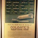 Antique Advertising Collectibles Colgate Ribbon Dental Cream Ad Toothpaste Morse Code 1918