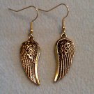 Gold angel wings
