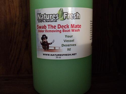 odor removing boat wash