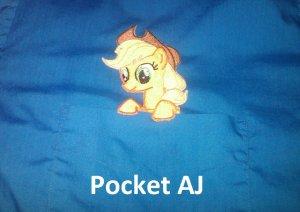 Applejack Pocket Topper Patch