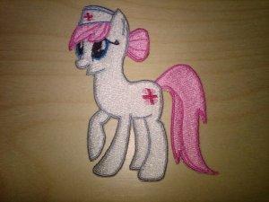 Nurse Redheart Patch