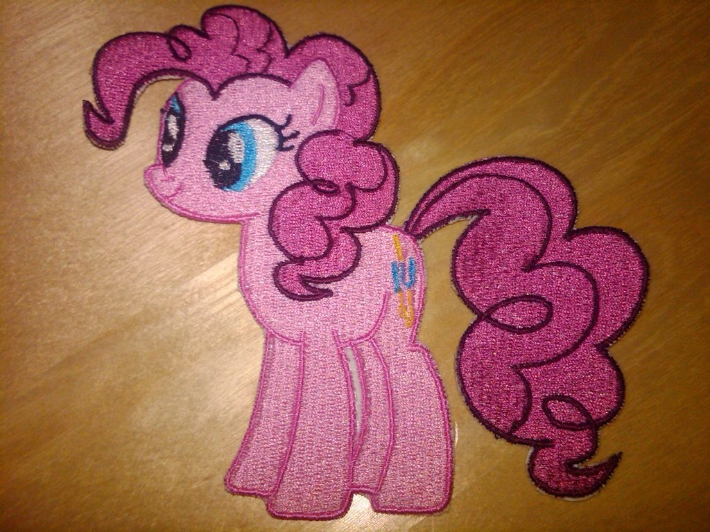 Pinkie Standing Patch 4""