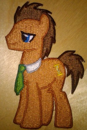 Dr. Whooves Patch
