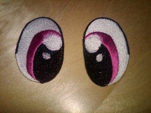 My Little Pony Eyes - Version 1 (Magenta)