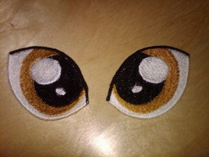My Little Pony Eyes - Version 2 (Gold)