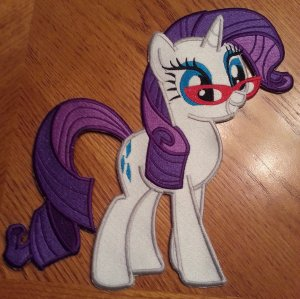 10 Inch Rarity with Glasses Patch